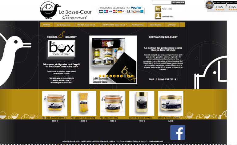 basse-cour vente de foie-gras en ligne