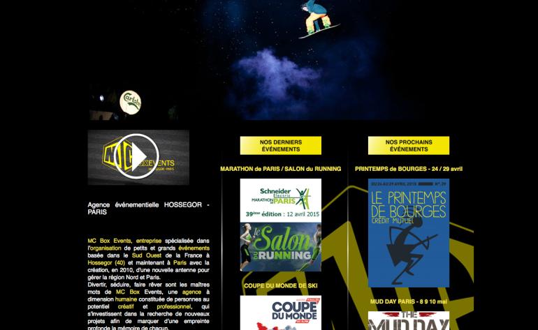 mcboxevents, l'agence événementiel sur les Landes et Paris